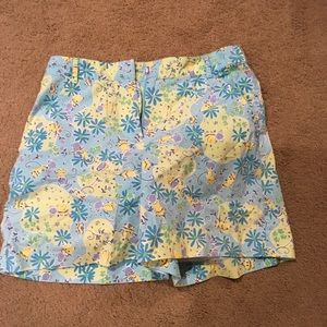 Lilly Pulitzer cotton Shorts 8 Golf